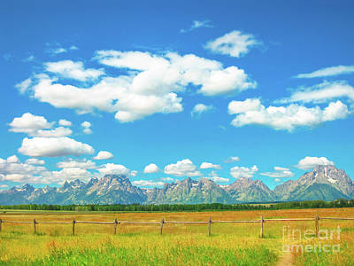 Photograph - Grand Teton National Park by Benny Marty