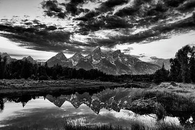 Grand Tetons, Wyoming Art Print