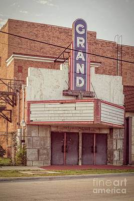 Photograph - Grand Theatre by Imagery by Charly