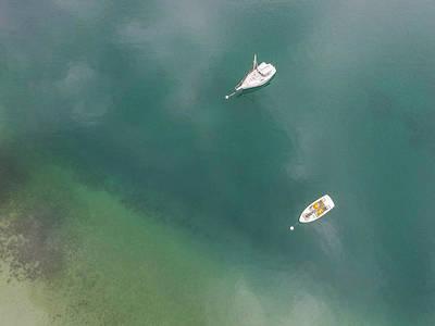 Photograph - Grand Traverse Bay Boats by John McGraw