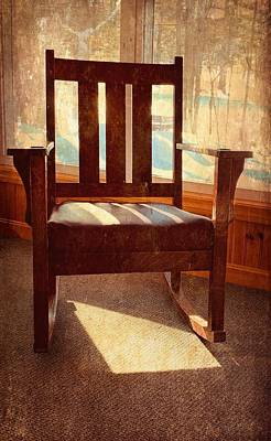 Photograph - Grandma's Rocker  by Betty Pauwels