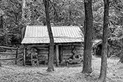 Photograph - Grandpa's Cabin by Wesley Nesbitt