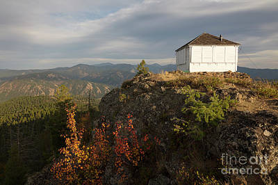 Photograph - Granite Mountain Lookout by Idaho Scenic Images Linda Lantzy