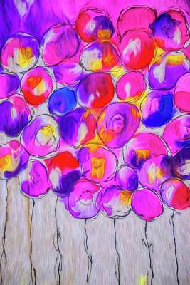 Photograph - Grape Balloons by Alice Gipson