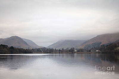 Photograph - Grasmere Lake Reflections by Gavin Dronfield