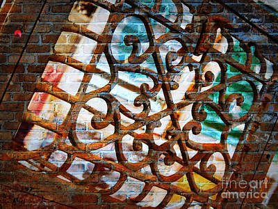 Photograph - Grate Abstract by Carol Groenen