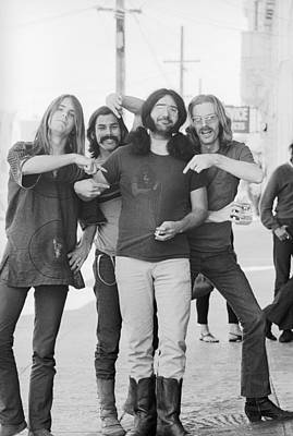 Photograph - Grateful Dead Portrait Session In Sf by Michael Ochs Archives