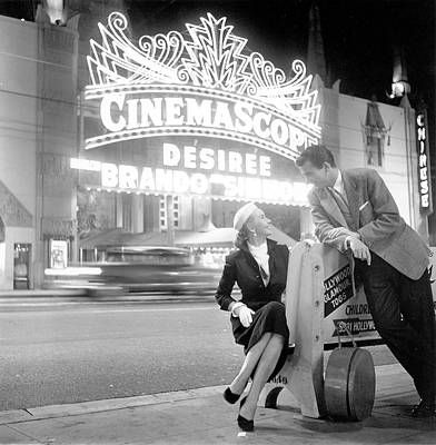 Photograph - Graumans Chinese Theatre by Michael Ochs Archives