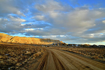 Photograph - Gravel Road To The Book Cliffs by Ray Mathis