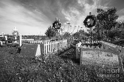 Photograph - Graves In Ninilchik,alaska by Eva Lechner