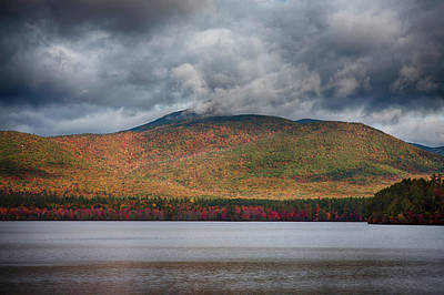 Photograph - Gray Clouds On Mount Chocorua by Jeff Folger