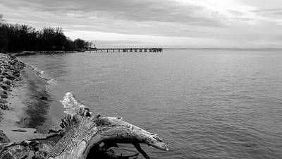 Photograph - Gray Day On The Bay by Charles Kraus