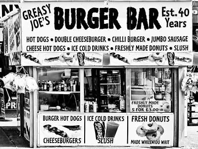 Photograph - Greasy Joe's Burger Bar by Dominic Piperata