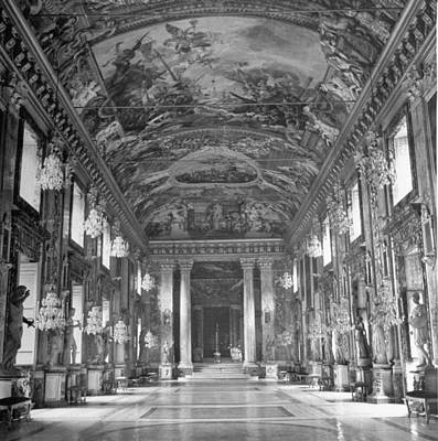 Photograph - Great Hall Of Palazzo Colonna.  Photo B by John Phillips