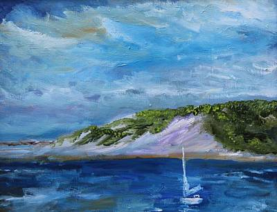 Painting - Great Island by Michael Helfen