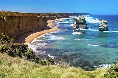 Photograph - Great Ocean Road by Steve Oldham