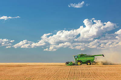 Photograph - Great Plains Harvest by Todd Klassy