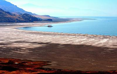 Photograph - Great Salt Lake by Jerry Sodorff