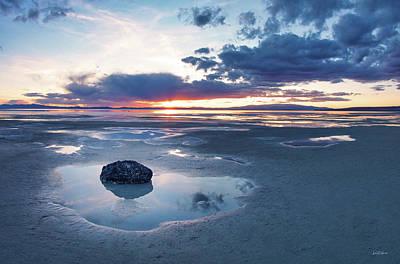 Photograph - Great Salt Lake by Leland D Howard