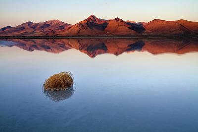 Trapped Photograph - Great Salt Lake, Utah by Scott Stringham Photographer