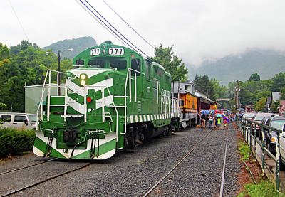 Photograph - Great Smoky Mountains Railroad 2014 G by Joseph C Hinson Photography