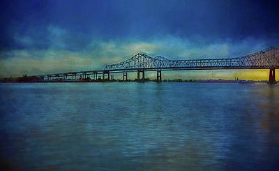 Photograph - Greater New Orleans Bridge by Reynaldo Williams