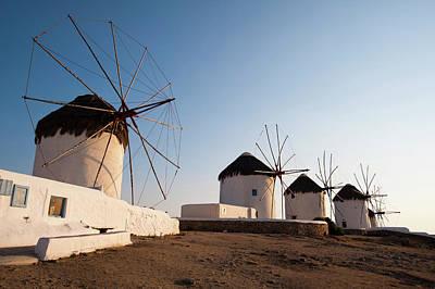 Mykonos Photograph - Greece, Cyclades, Mykonos, Chora by Pitamitz Sergio / Hemis.fr