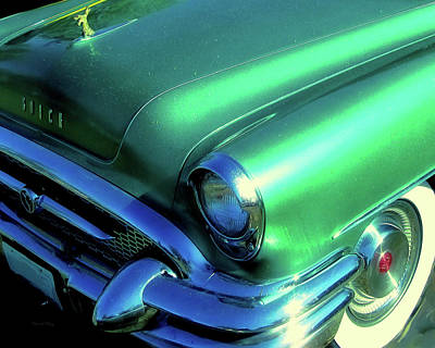 Photograph - Green 1955 Buick Special by David King
