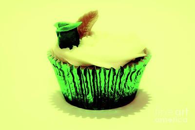Photograph - Green Cupcake by Toula Mavridou-Messer