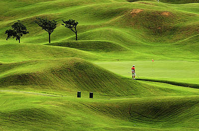 Photograph - Green Curve by Copyright Of Eason Lin Ladaga