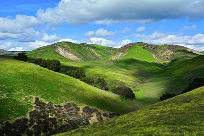 Photograph - Green Hills Santa Monica Mountains by Kyle Hanson