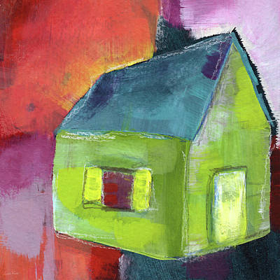 Painting - Green House- Art By Linda Woods by Linda Woods
