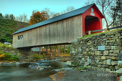 Photograph - Green Iver Historic Covered Bridge by Adam Jewell