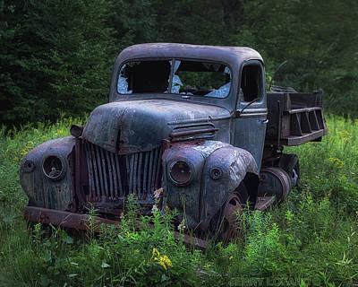 Truck Wall Art - Photograph - Green Mattress by Jerry LoFaro