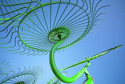 Photograph - Green Rake by Todd Klassy