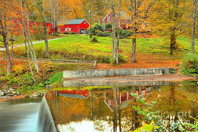 Photograph - Green River Village Homestead Reflections by Adam Jewell