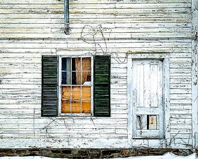 Photograph - Green Shutters by Kendall McKernon