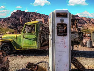 Movie Tees - Green Truck by Alan Kepler