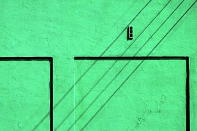 Photograph - Green Wall by Stuart Allen