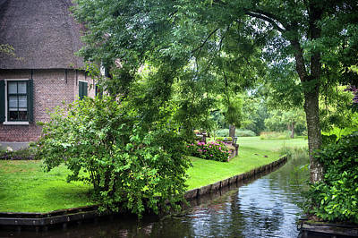 Photograph - Greenery Of Giethoorn. The Netherlands 1 by Jenny Rainbow
