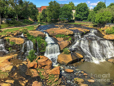 Photograph - Greenville Sc by Dale Powell