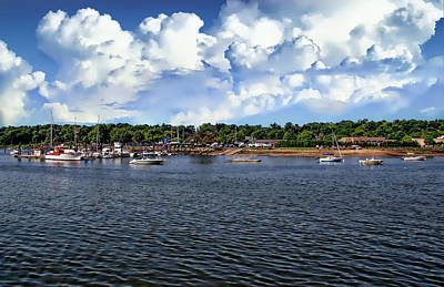 Photograph - Greenwich Harbor by Anthony Dezenzio