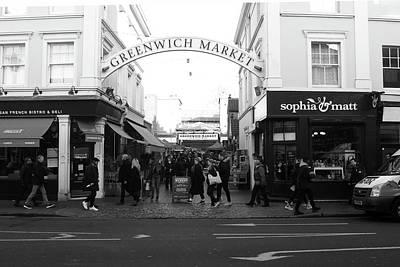 Photograph - Greenwich Market, London by Aidan Moran