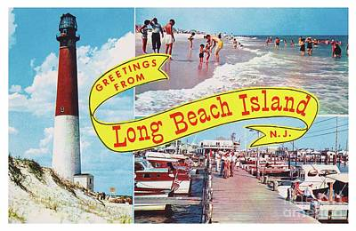 Photograph - Long Beach Island, Nj Greetings - Version 1 by Mark Miller