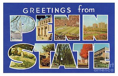 Photograph - Penn State Greetings by Mark Miller