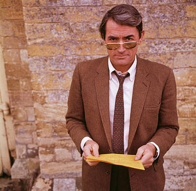 England Photograph - Gregory Peck by Hulton Archive