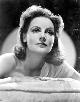 Photograph - Greta Garbo by Evening Standard