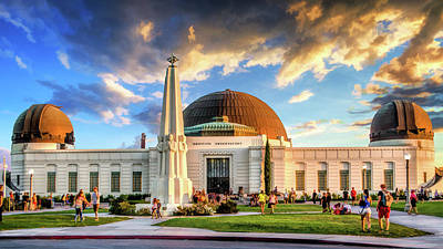Painting - Griffith Observatory by Christopher Arndt
