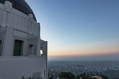 Photograph - Griffith Observatory In The Morning by John McGraw