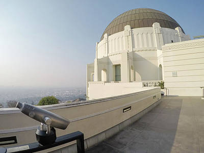 Photograph - Griffith Observatory Los Angeles California by Alex Grichenko